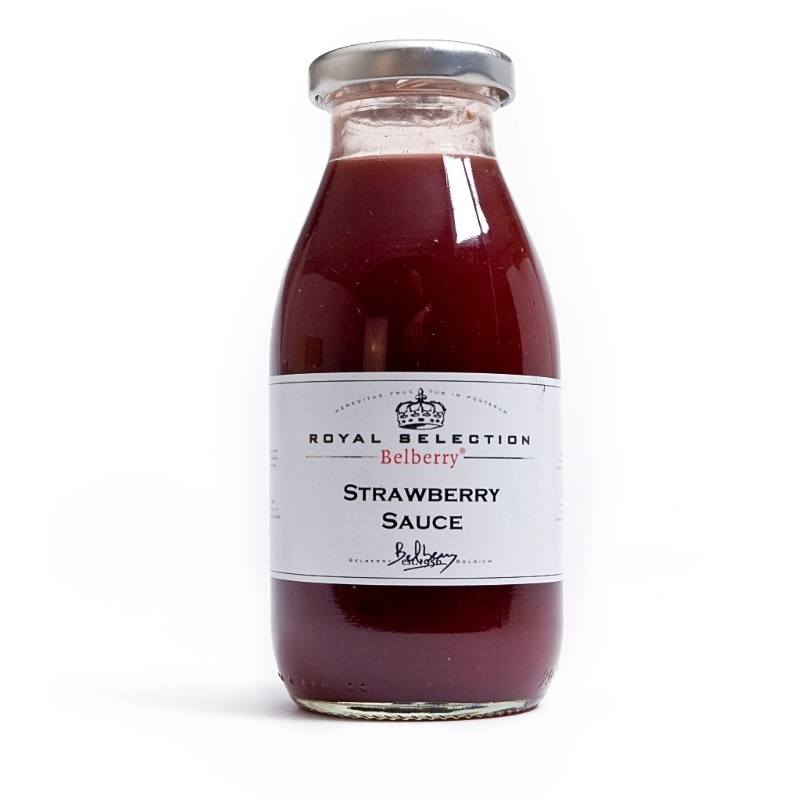 Aardbeiencoulis 250ML - Belberry