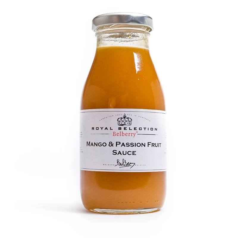 Mango-Passievrucht Coulis 250ML - Belberry